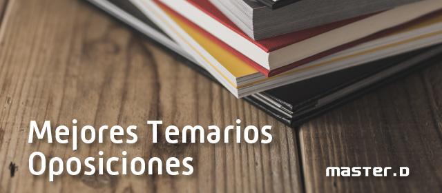 MasterD: Actualización Temarios