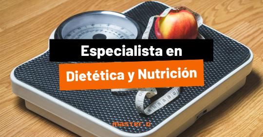 especialista nutrición y dietética