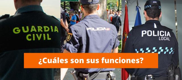 Diferencias Policía Nacional y Guardia Civil