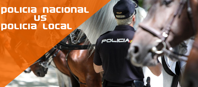Diferencias policía nacional y local