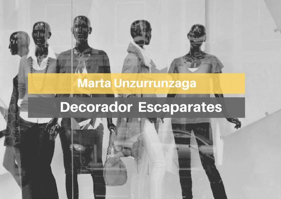 Curso escaparatismo, opinión Marta de MasterD