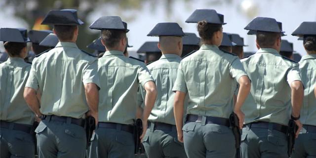 Pruebas fase oposición de Guardia Civil