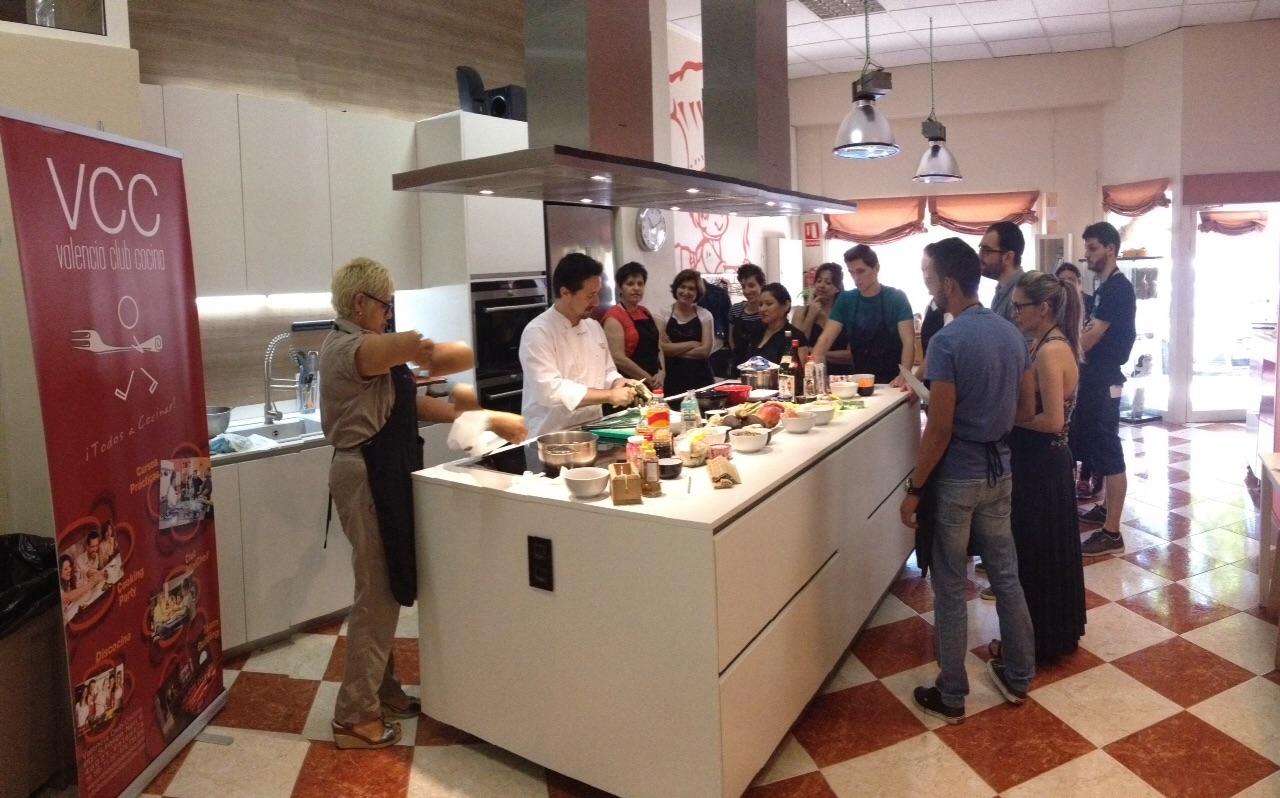 Seminario de Cocina Japonesa en MasterD Valencia