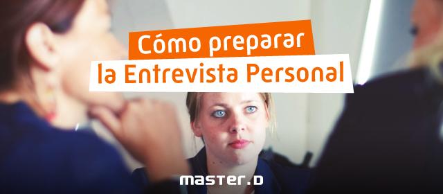 Preparar Entrevista Personal Oposiciones