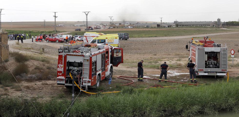 Accidente Pirotecnia Zaragozana