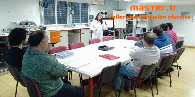 Taller comunicación eficaz en MasterD Vigo