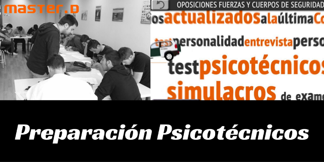 Preparación de Psicotécnicos en MastrerD Mallorca