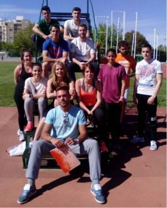 Simulacro pruebas físicas oposiciones en MasterD Jaén