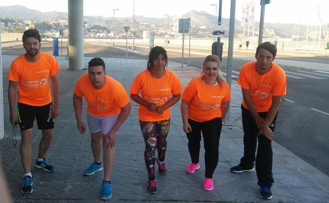 MasterD Málaga, preparación pruebas físicas
