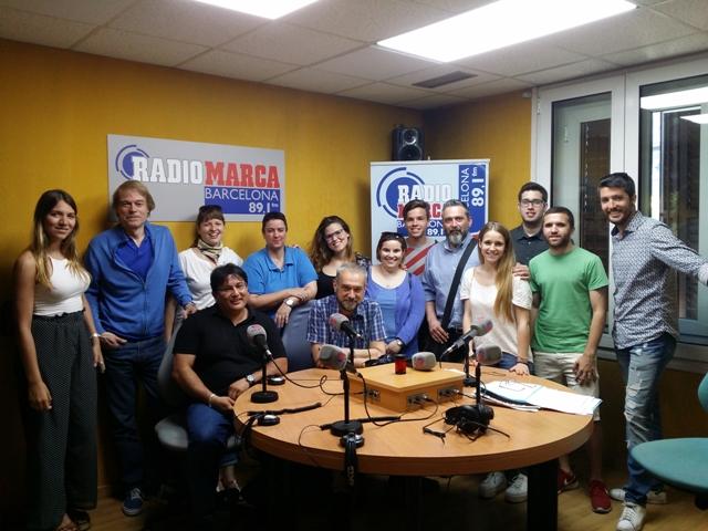 MasterD Barcelona visita la radio