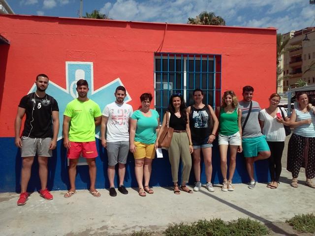 MasterD Málaga Visita Protección Civil