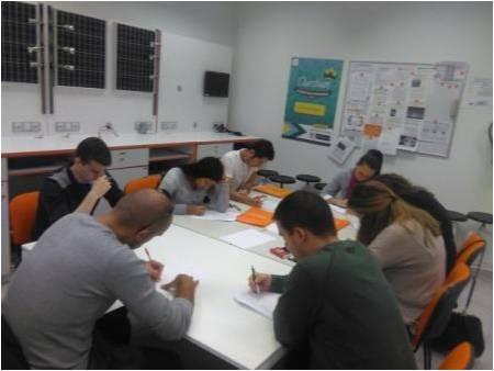 aula estudio en academia master d coruña