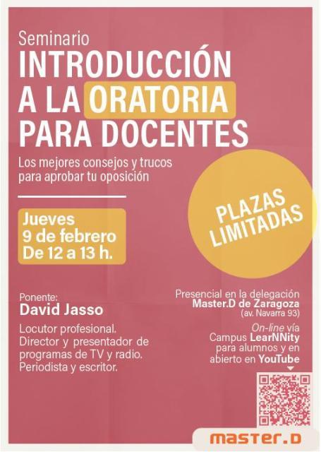 Seminario oratoria - Oposiciones Educación