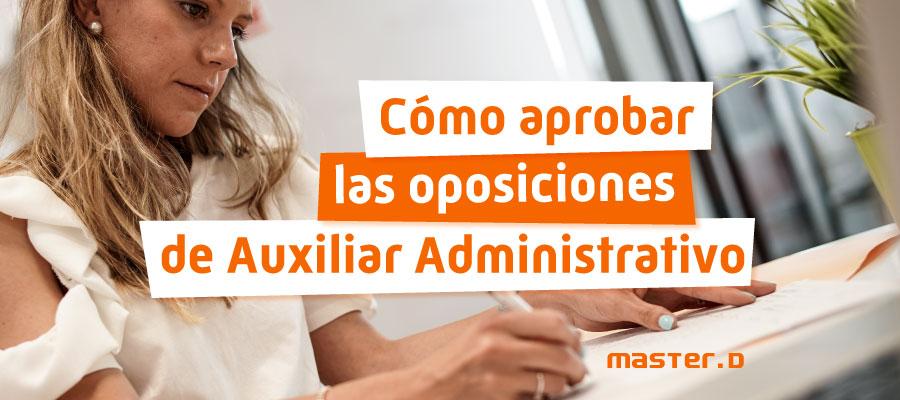 oposiciones auxiliar administrativo aprobar