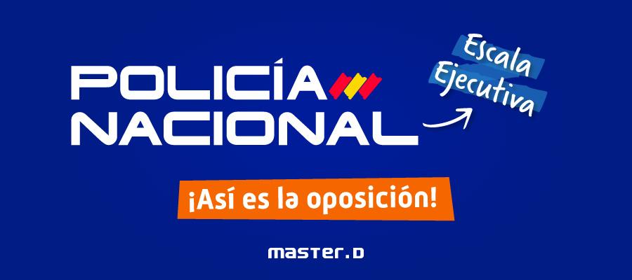 convocatoria policia nacional escala ejecutiva