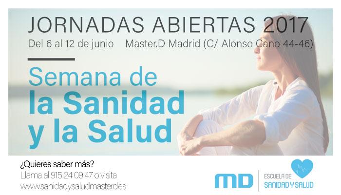 Semana Sanidad y Salud MasterD Madrid