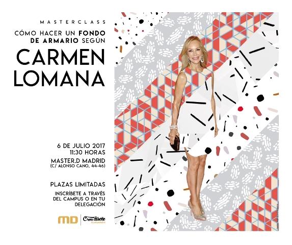 Masterclass con Carmen Lomana