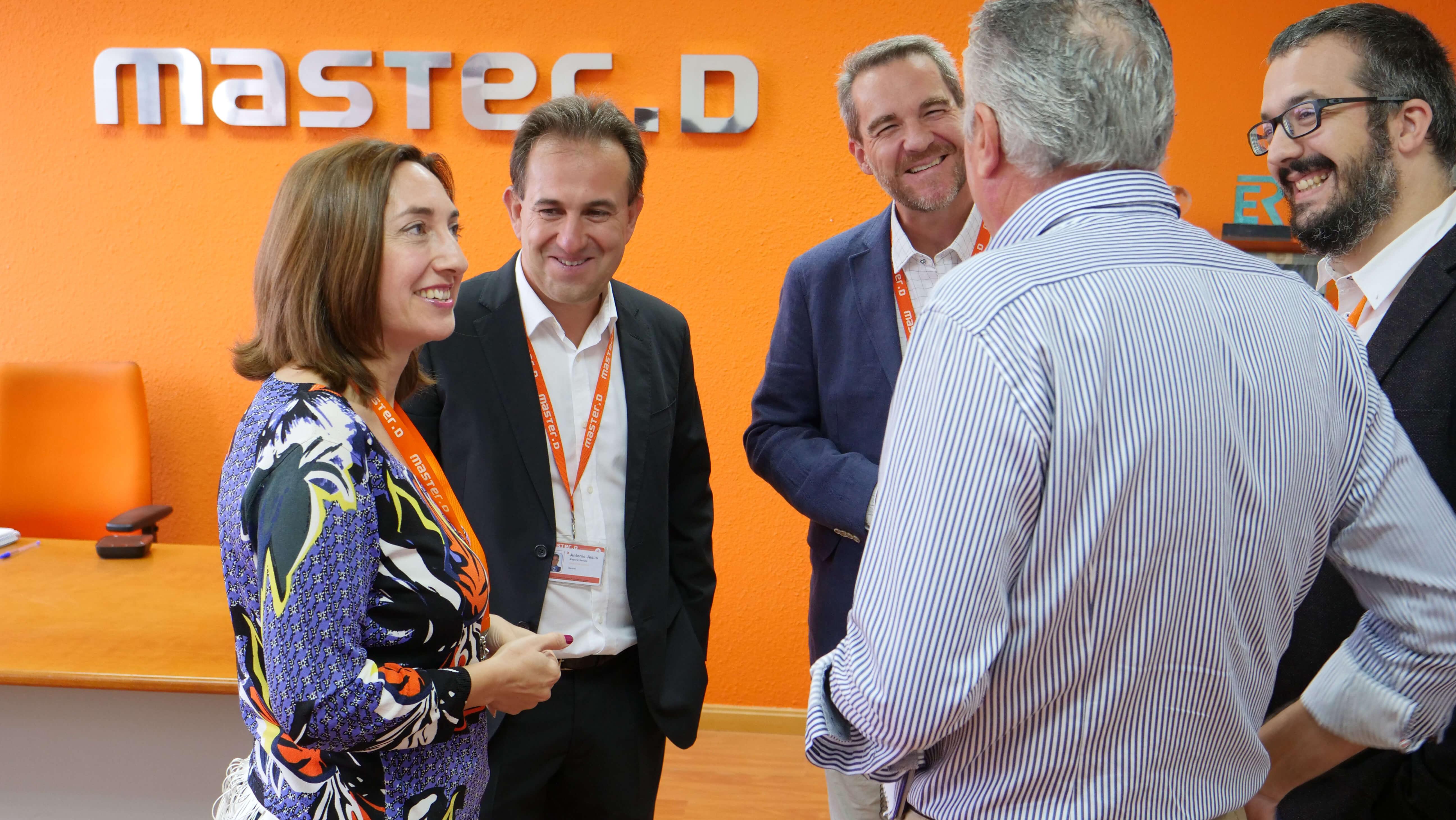 María Soledad de la Puente visita MasterD