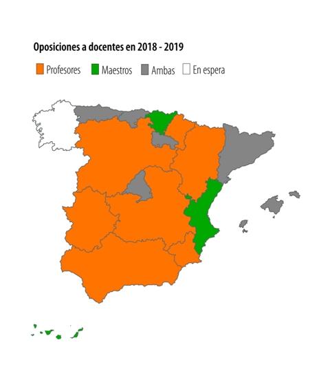 oposiciones educacion 2018