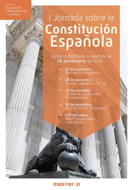 jornadas constitucion española