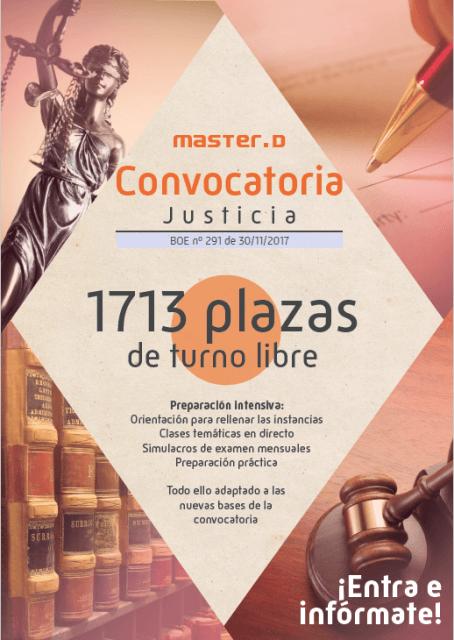 convocatoria justicia 2017