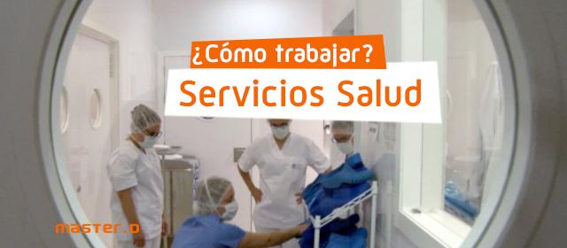 como trabajar en servicios de salud