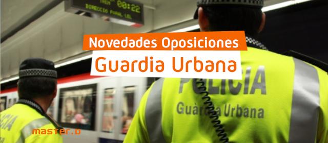 Convocatoria Guardia Urbana Barcelona