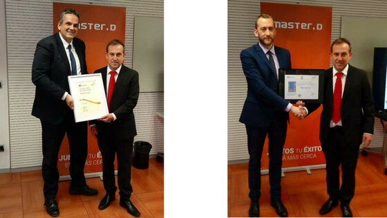 MasterD, Sello de Calidad Europea