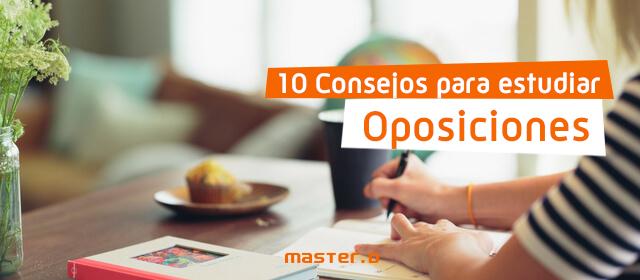 Consejos Estudiar Oposiciones