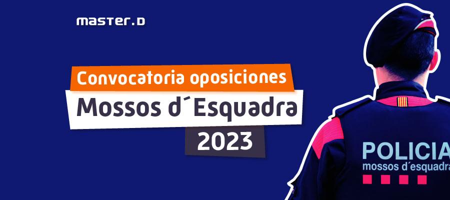 Convocatoria Mossos d'Esquadra 2021