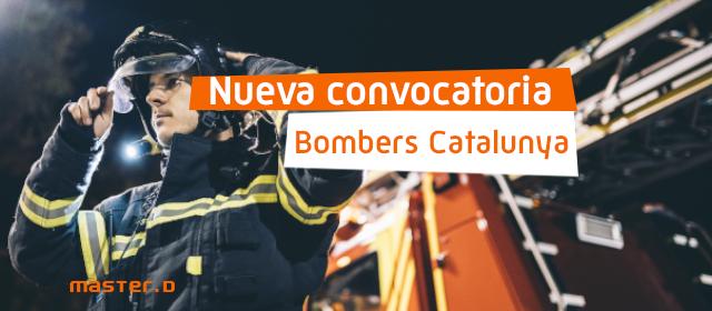 Convocatoria Bombers Catalunya 2021