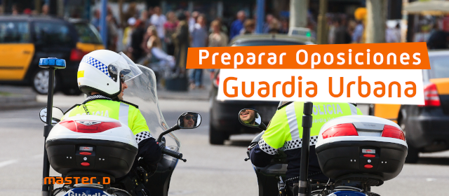 Oposiciones Guàrdia Urbana 2021