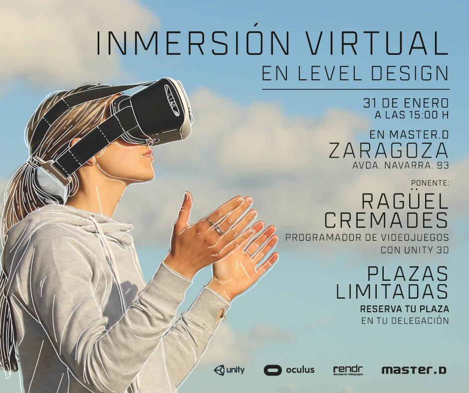 Taller de Videojuegos en MasterD Zaragoza