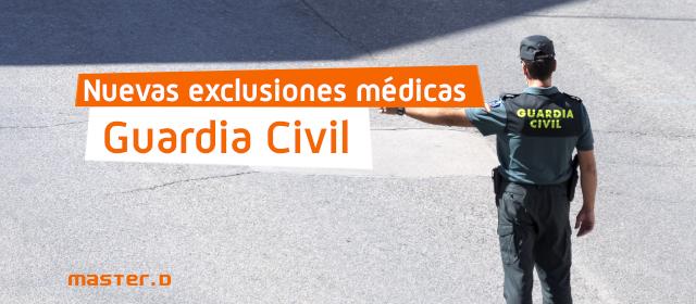 Exclusiones Guardia Civil