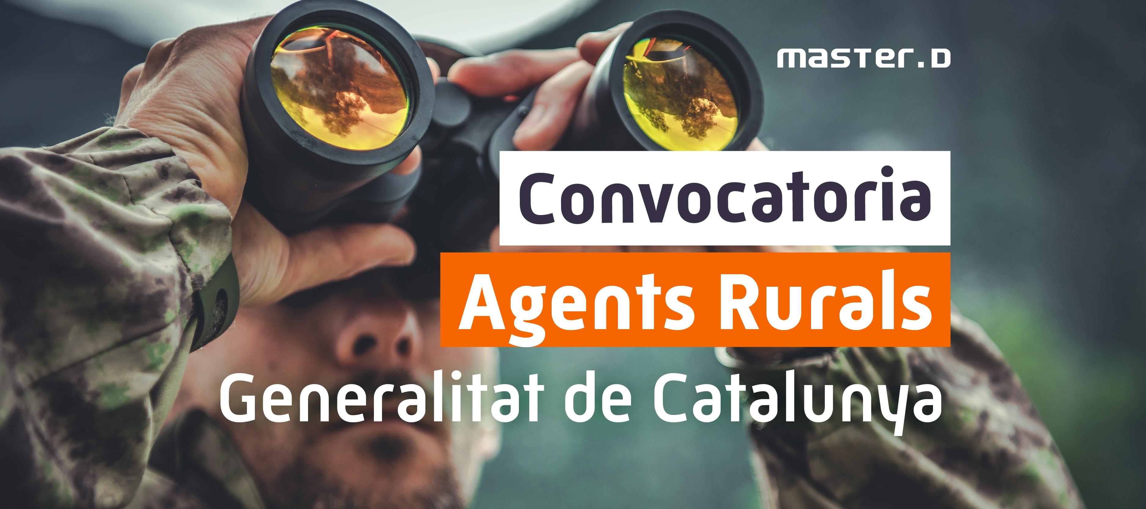 Novedades oposicions agents rurals generalitat