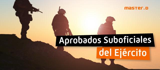 Lista aprobados Suboficiales Ejército