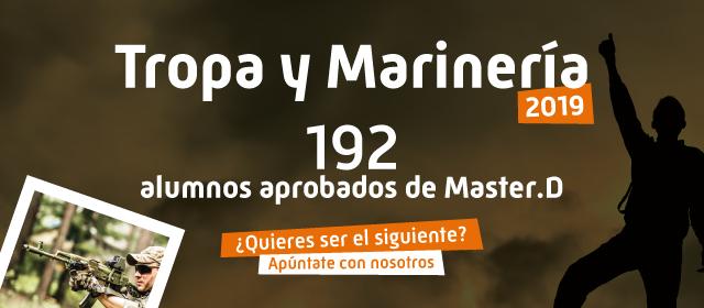 Aprobados MasterD Tropa y Marinería