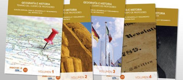 Mejor Temario geografía e historia