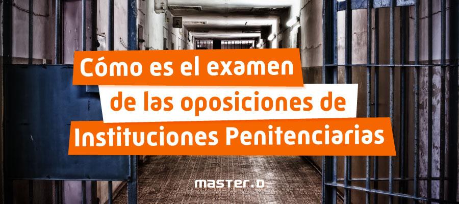 Pruebas para funcionario de prisiones