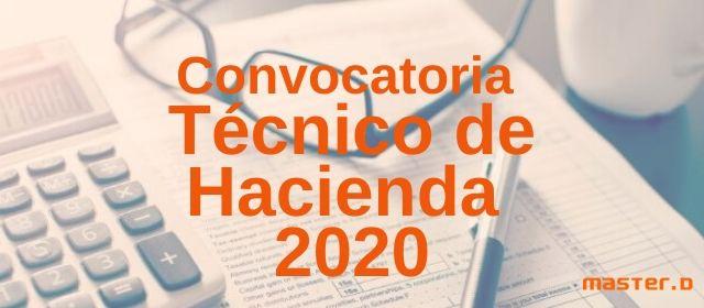 Tecnico hacienda 2020 fecha examen