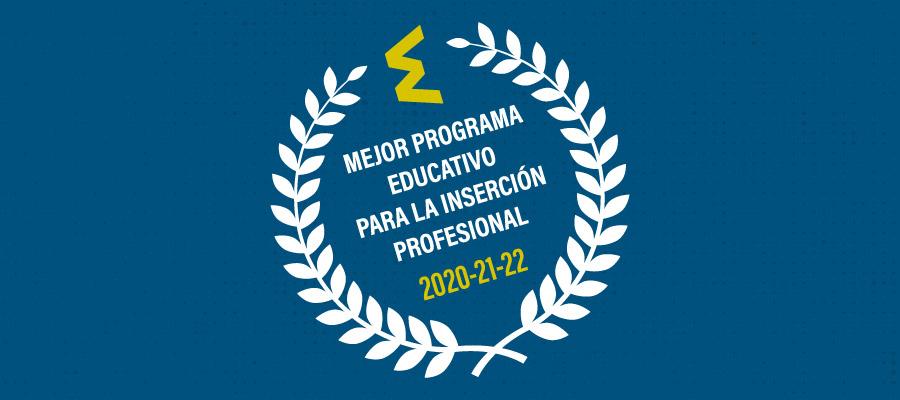 Mejor Programa Educativo Inserción Laboral