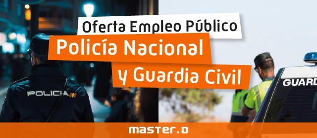 Plazas policia nacional y guardia civil