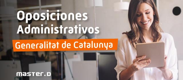 Plazas Administratiu Catalunya 2020