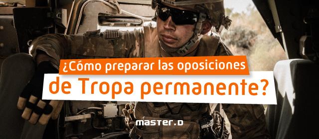 Cómo ser militar de carrera