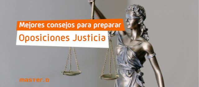 Planning estudio oposiciones justicia