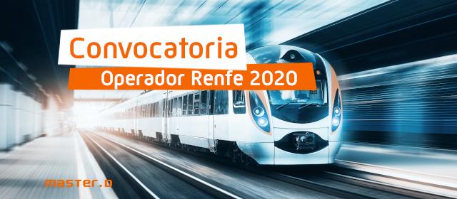 convocatoria renfe 2020