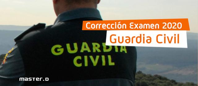 Preguntas corregidas del examen de guardia civil