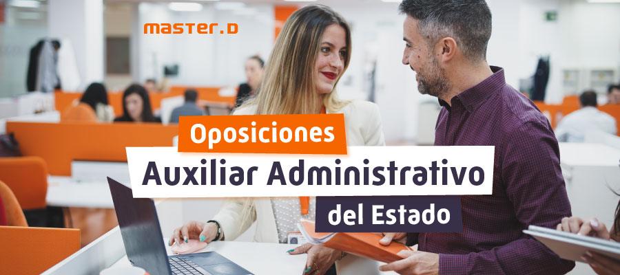 Auxiliar Administrativo del Estado 2021
