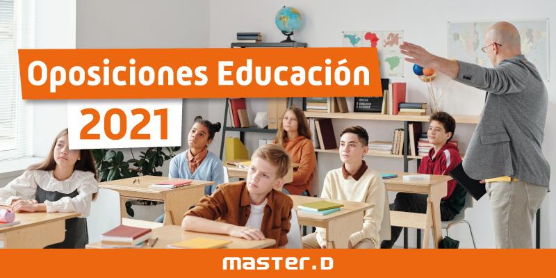 Oposiciones maestros y profesores 2021