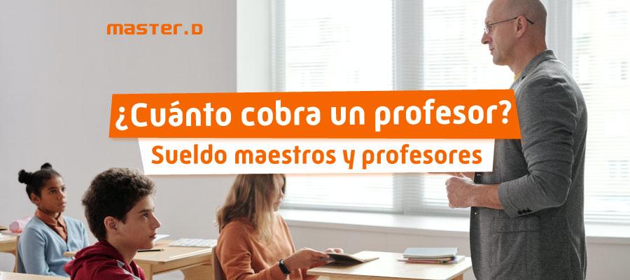 Sueldo profesores educación secundaria